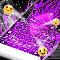 Flame Violet Keyboard icon