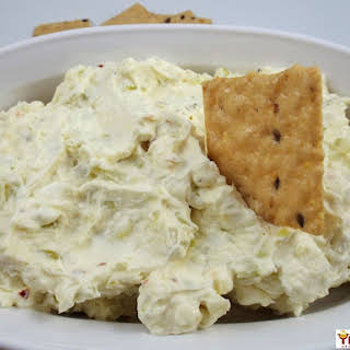 Spicy Cream Cheese Pepperoncini Spread.