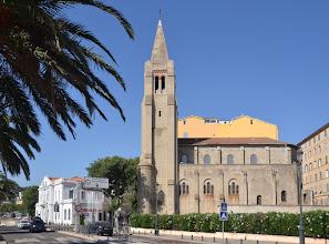Photo: Bastia - kostol Notre Dame De Lourdes /Panny Márie Lurdskej/