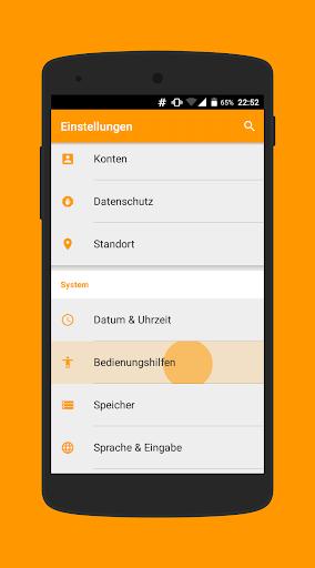 Pure Orange CM12 12.1 Theme