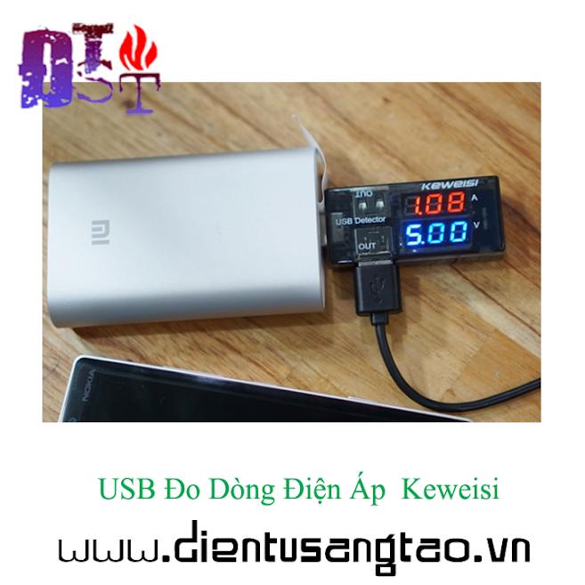 USB Đo Dòng Điện Áp Keweisi