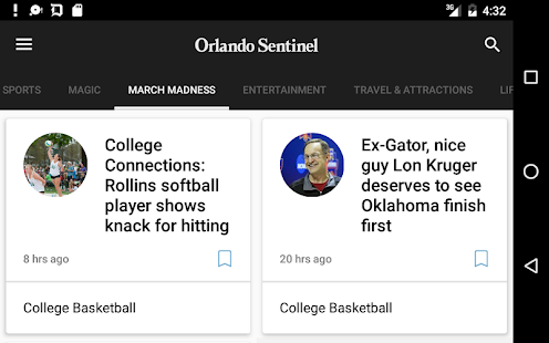 Orlando Sentinel- screenshot thumbnail