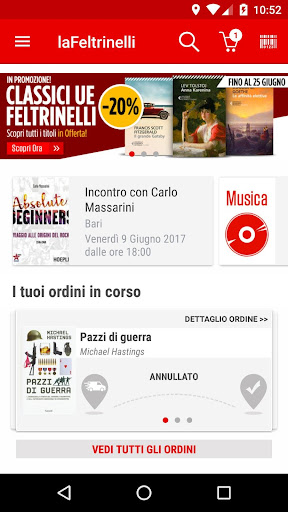 la Feltrinelli mobile 5.5 screenshots 1