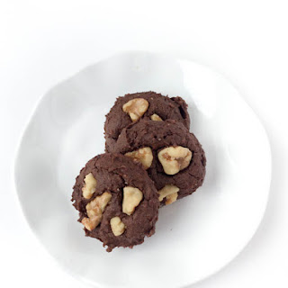 Flourless Chocolate Walnut Cookies