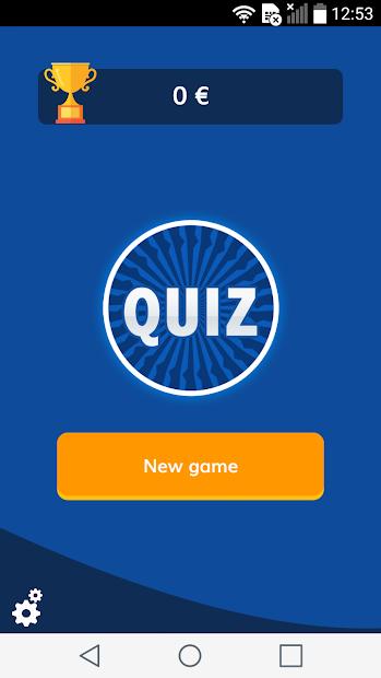 Quiz Android App Screenshot