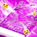 GO Keyboard Pink Glow icon