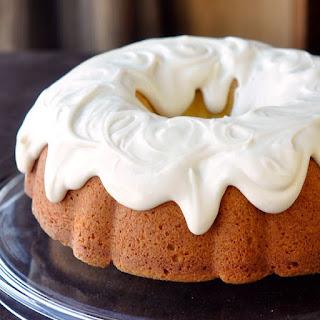 Vanilla Cream Cheese Bundt Cake.