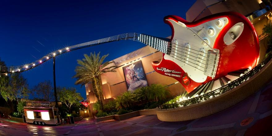 Rock n Roller Coaster at Disney