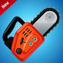Electric Chainsaw simulator prank app icon