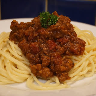 More healthy Bolognese: Turkey and sun dried tomatoes Bolognese recipe .