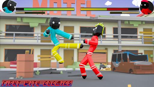 Stickman Street Fighting City Blocky Gangster cheat hacks