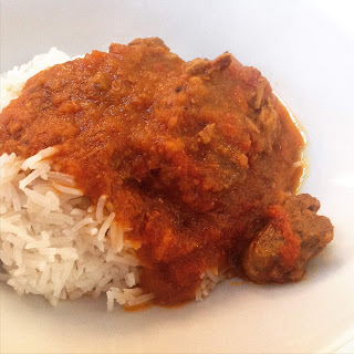 Slow Cooker Lamb Rogan Josh.