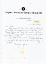 Photo: Letter from Miss E.M.Breukelman
