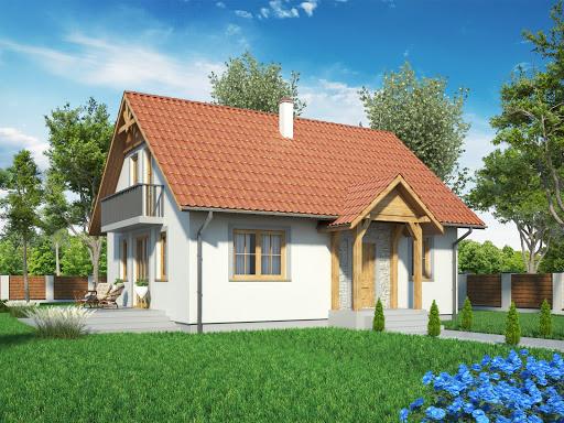 projekt Domek Prosty 009 ES