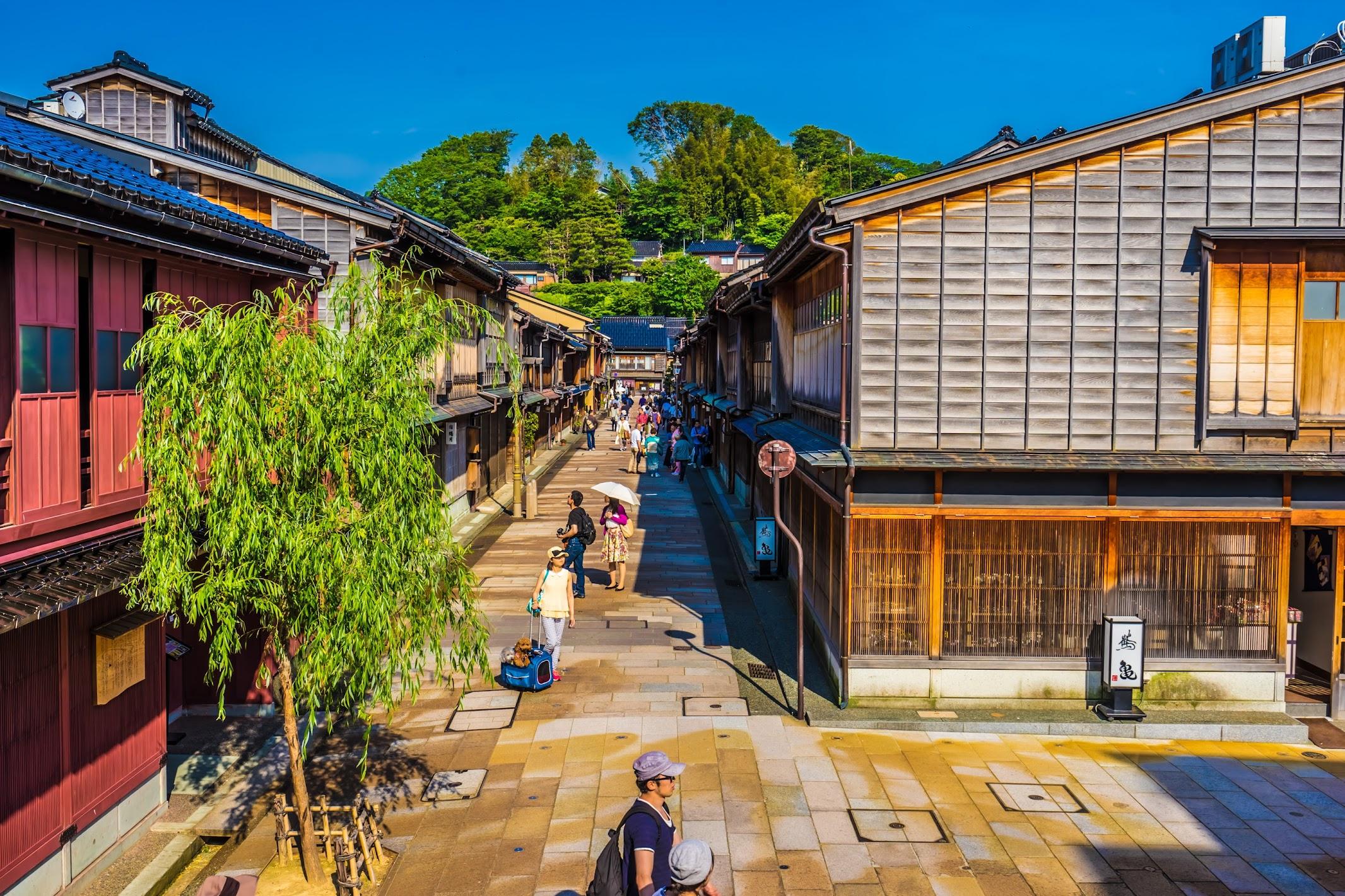 Kanazawa Higashi Chaya District2