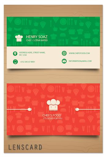 Lenscard -Business Card Maker 2.0.18 screenshots 6