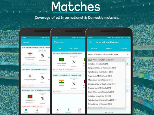 Live Cricket Scores 2.8.1 screenshots 1
