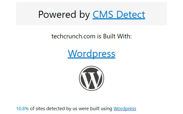 CMS Detect - What CMS is that site using?