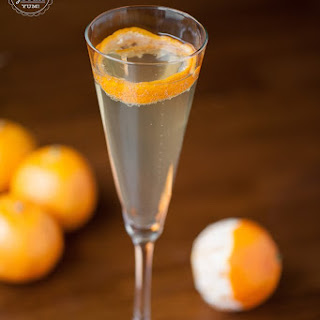 Lapostolle Champagne Cocktail.
