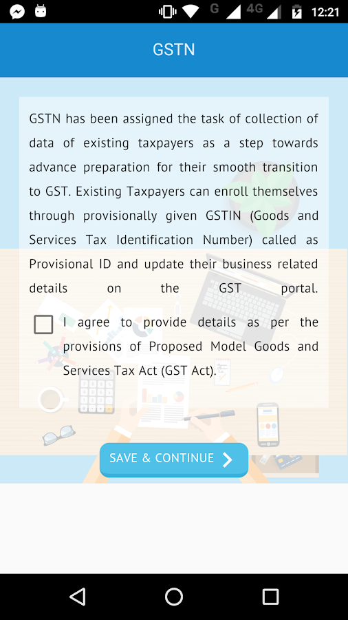 GST Enrolment- screenshot
