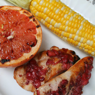 Grilled Chicken with Strawberry Shallot Jam