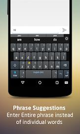 Adaptxt Free Keyboard Screenshot 1