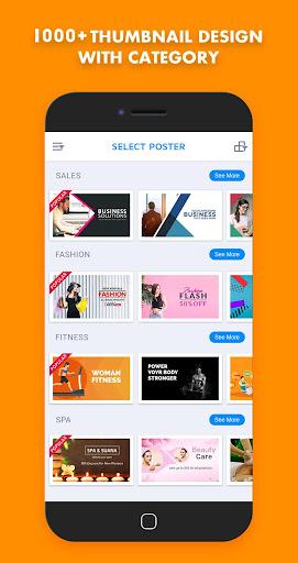 Thumbnail Maker-Youtube,FB,Instagram,Twitter etc.. 1.2.8 screenshots 2