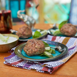 Sephardic Lamb Meatballs with Tzatziki