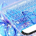 Blaue Blume Keyboard icon