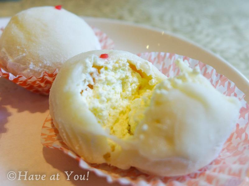 glutinous rice dumplings with mango