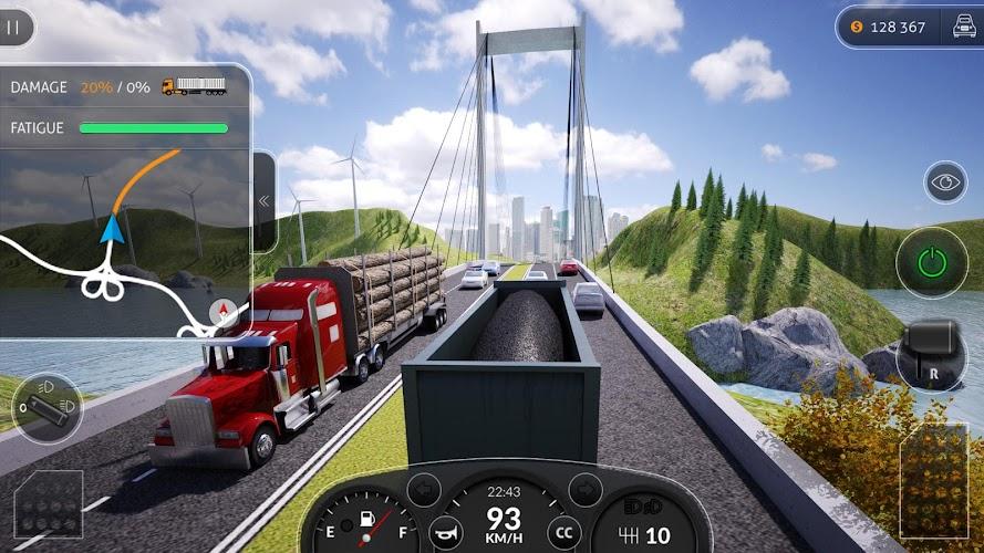 Truck Simulator PRO 2016- screenshot