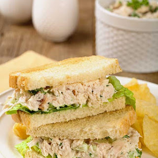 Chicken Salad with Bacon.