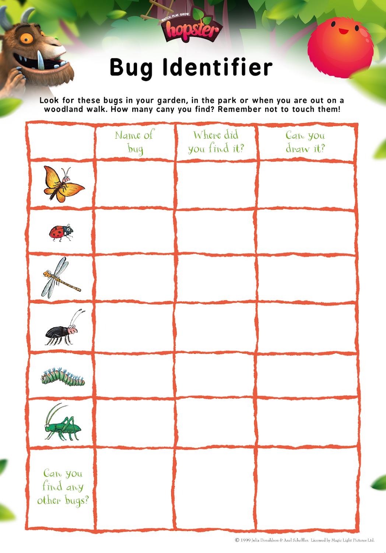 gruffalo-bug-identifier-hopster