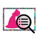 Two dimensions Image Search icon
