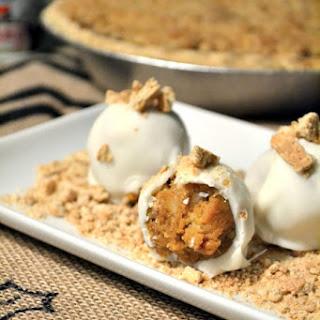 Pumpkin Pecan Streusel Pie Bites
