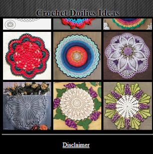 Crochet Doilies Ideas - náhled