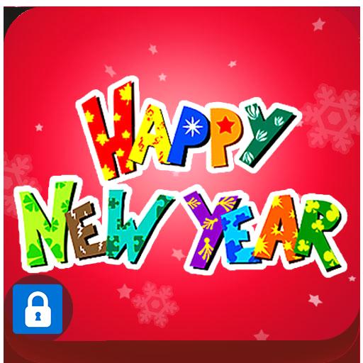 應用鎖主題皮膚新年快樂(超級應用鎖專用) 個人化 App LOGO-APP試玩