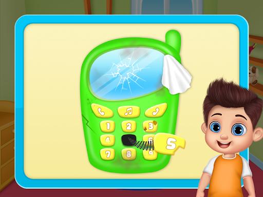 Daddyu2019s Helper Fun - Messy Room Cleanup screenshots 8