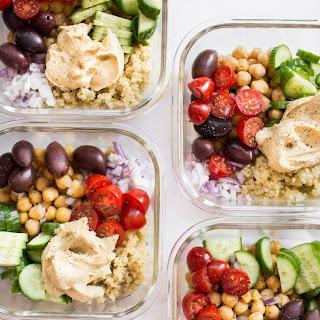 Mediterranean Vegan Meal Prep Bowls Recipe