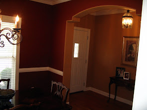 Photo: Entry and some of the dining room