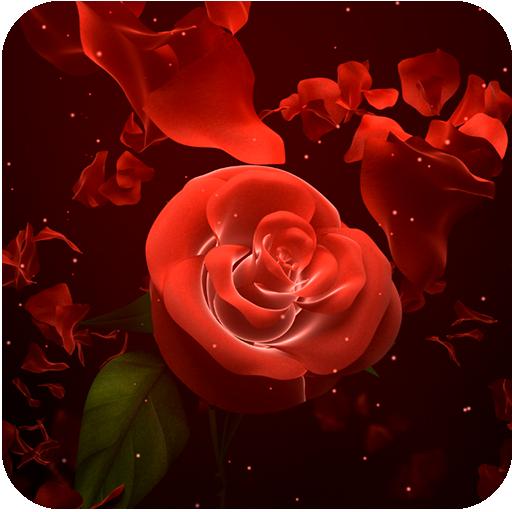 App Insights Neon Rose Live Wallpaper Apptopia