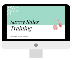 Savvy Sales Training