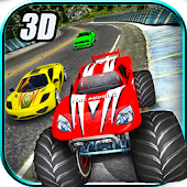 Crazy Car vs Monster Racing 3D