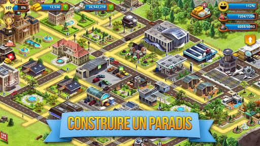Code Triche Tropic Paradise Sim: Town Building City Game APK MOD screenshots 2