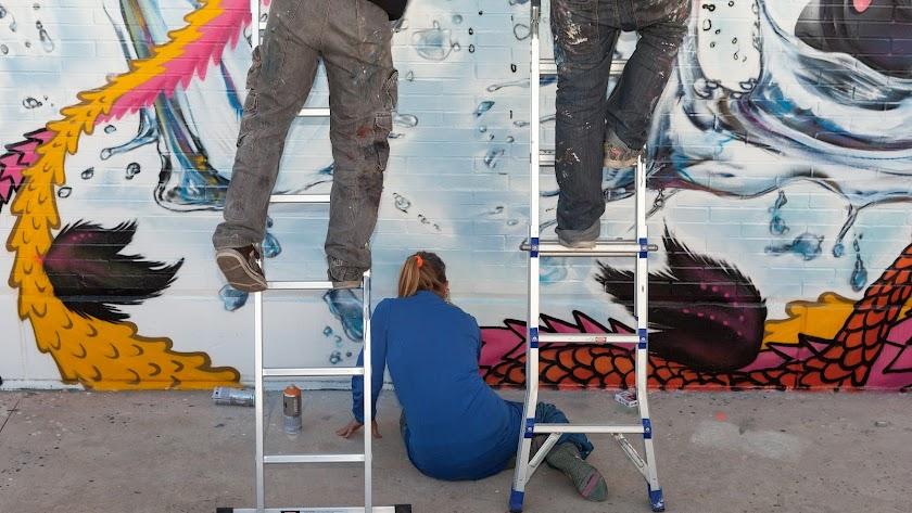 El graffiti dejará un nuevo rastro en la ciudad gracias al Festival Urban Lei