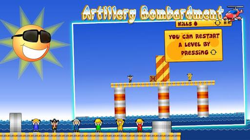 Artillery bombardment