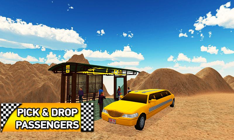 Offroad Limo Taxi Driving Sim- screenshot