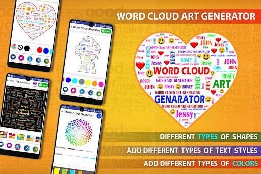 Word Cloud Art Generator screenshot 9