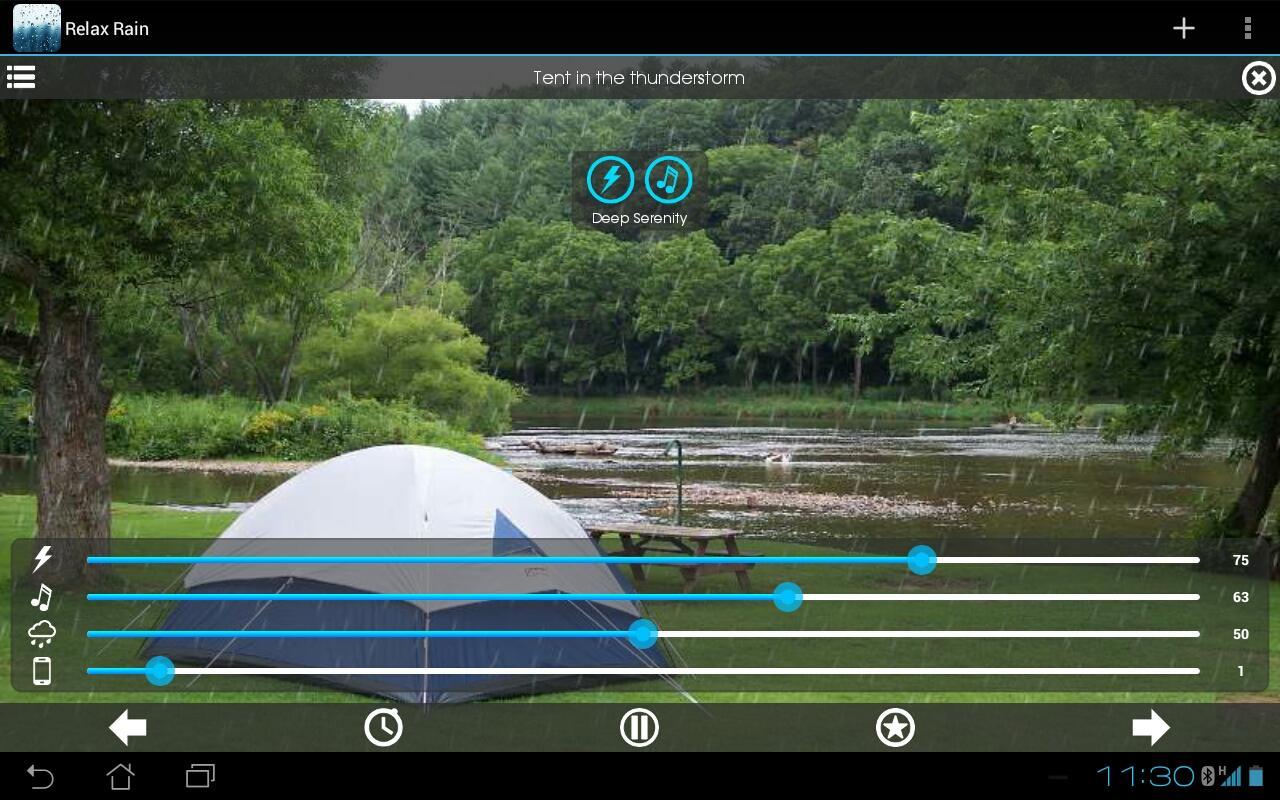 relax lluvia sonidos lluvia aplicaciones de android en