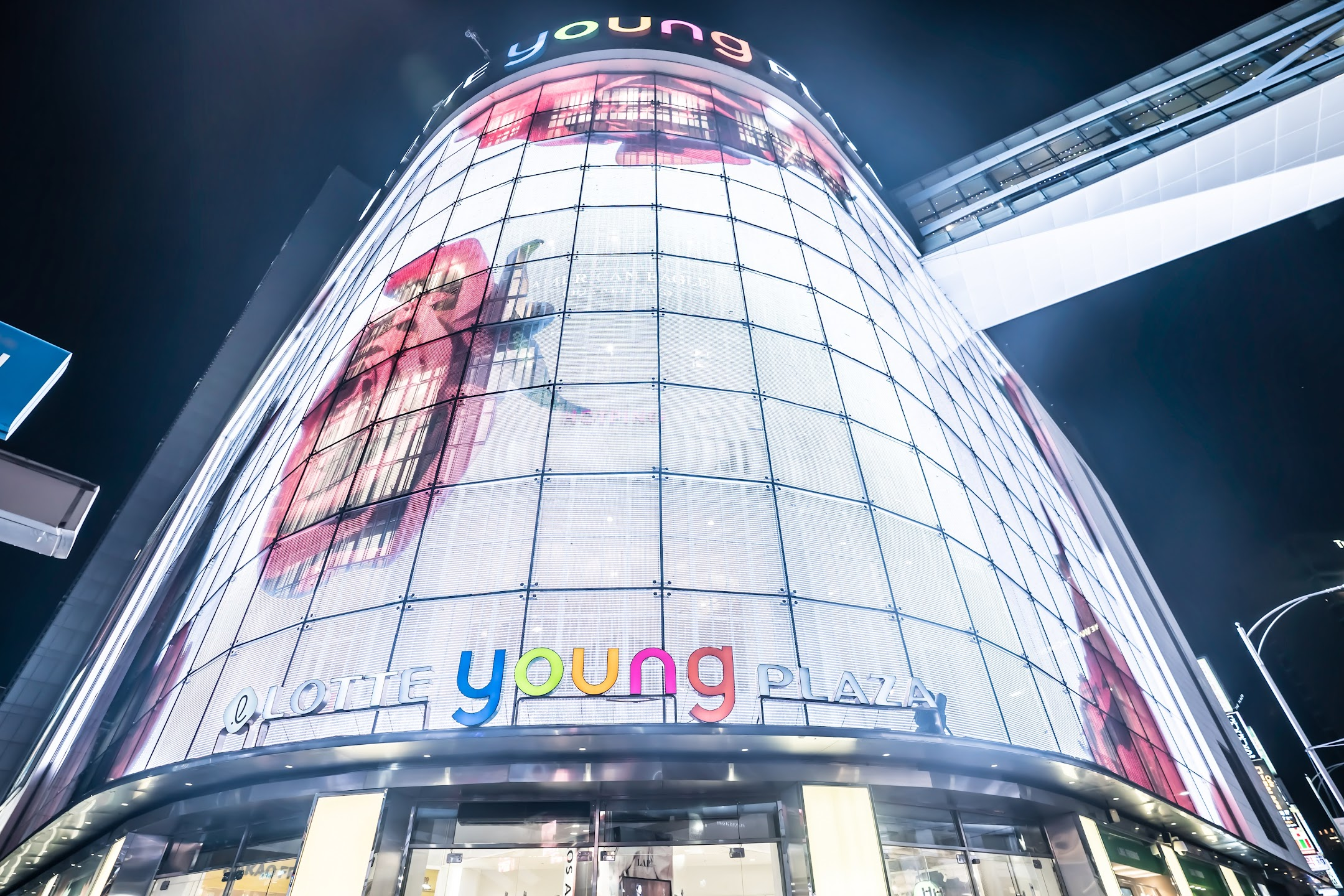 Seoul Myeong-dong Lotte Young Plaza